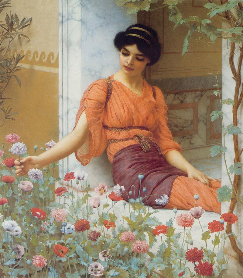 Raquel 800px-Godward_Summer_Flowers_1903